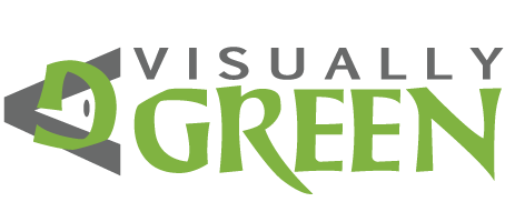 Visually Green Logo